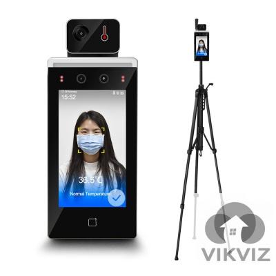 Face Recognition Temperature Measurement System Hikvision OEM DS-K1TA70MI-T