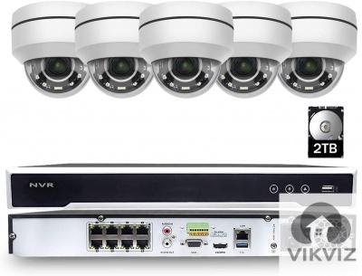 5MP PTZ Camera Kits