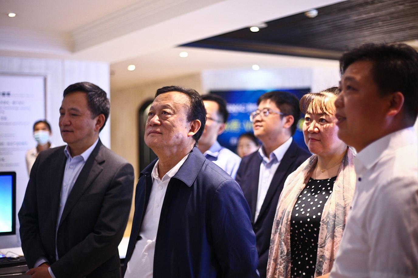 中國建筑裝飾協會領導蒞臨聆海裝飾&美巢設...