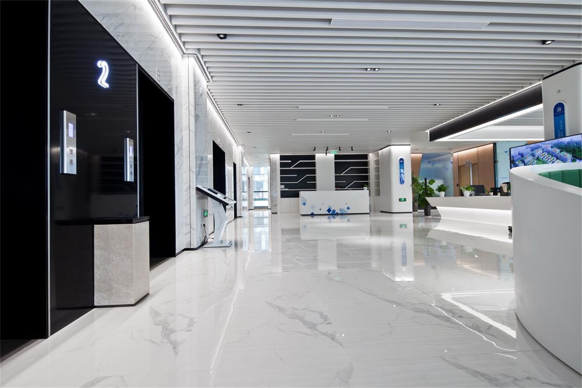 信息產業園項目一樓電梯廳