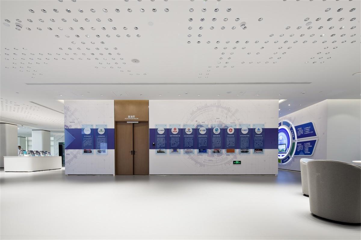 信息產業園項目一樓展示中心