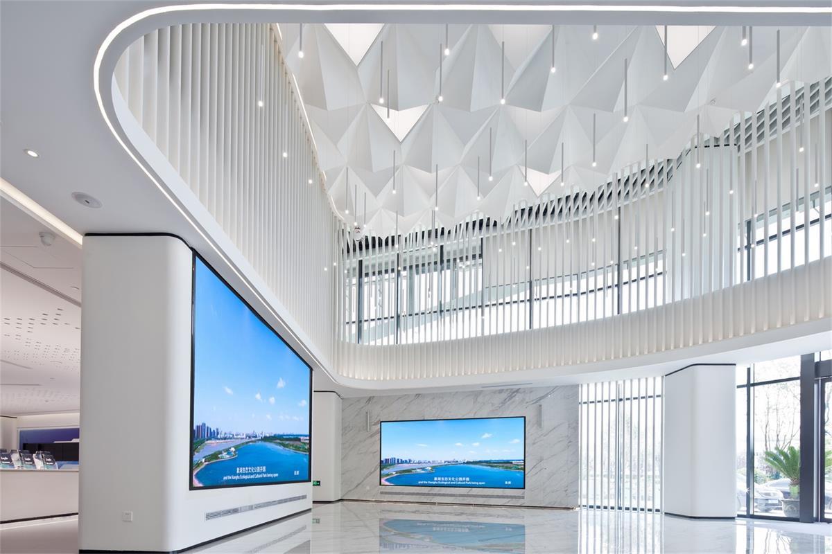 信息產業園項目一樓大廳