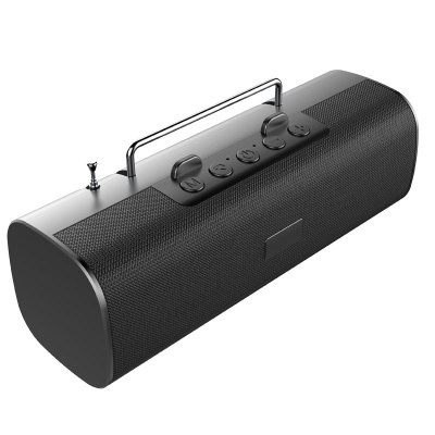 S40 Portable FM Radio Bluetooth Speaker With Mic Stereo Outdoor Wireless TF Card Speaker Boombox