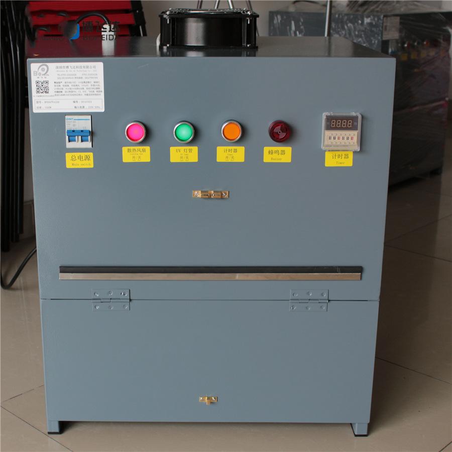 旋转式uv固化箱,多面uv固化,800w1000w2000w