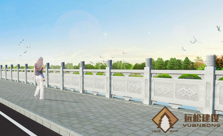 铸造石护栏