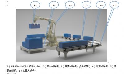 工业机器人码垛实训平台