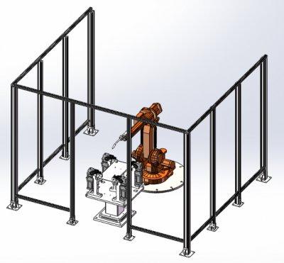 工业机器人点焊实训平台