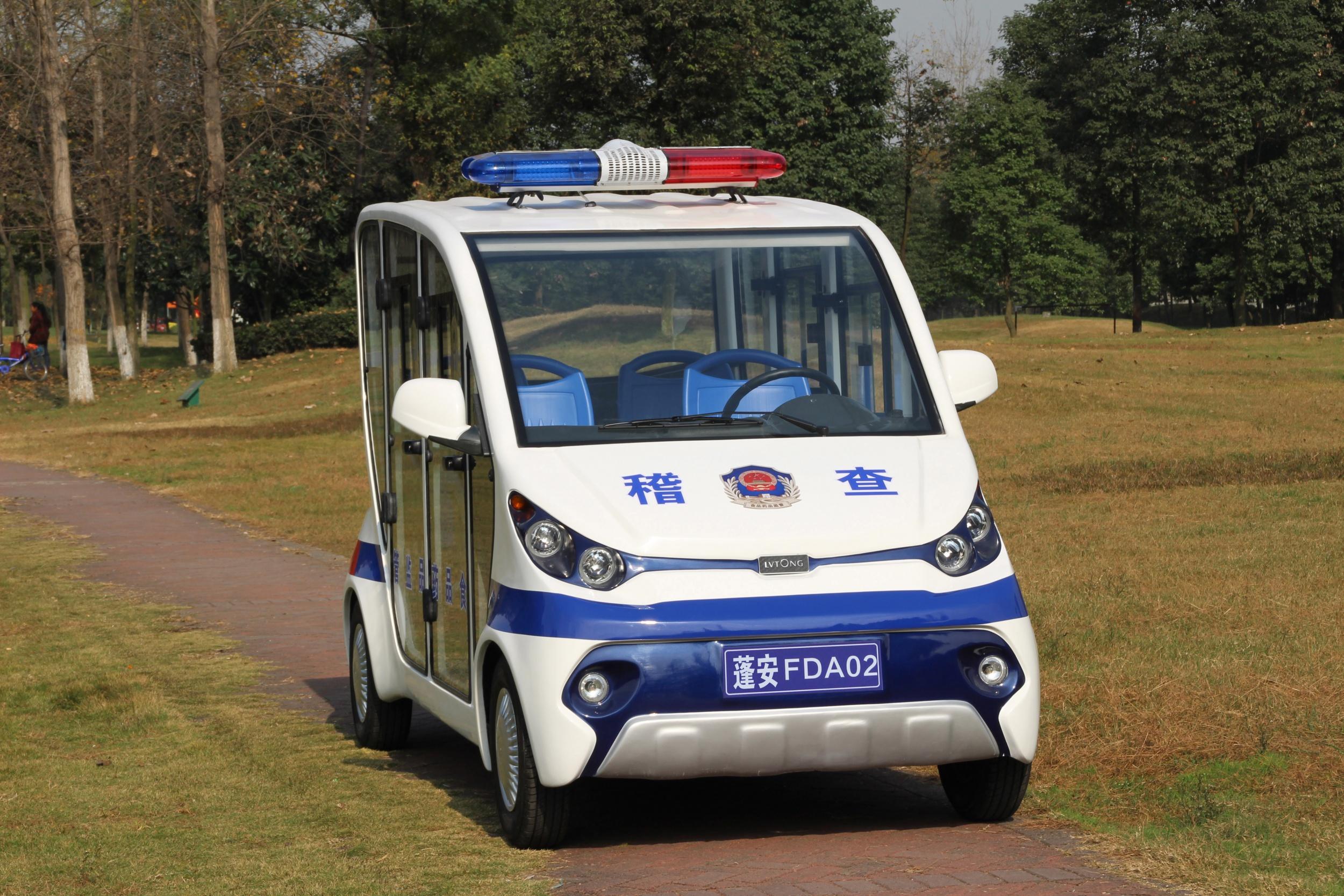 电动巡逻车——电力发电|方便执法
