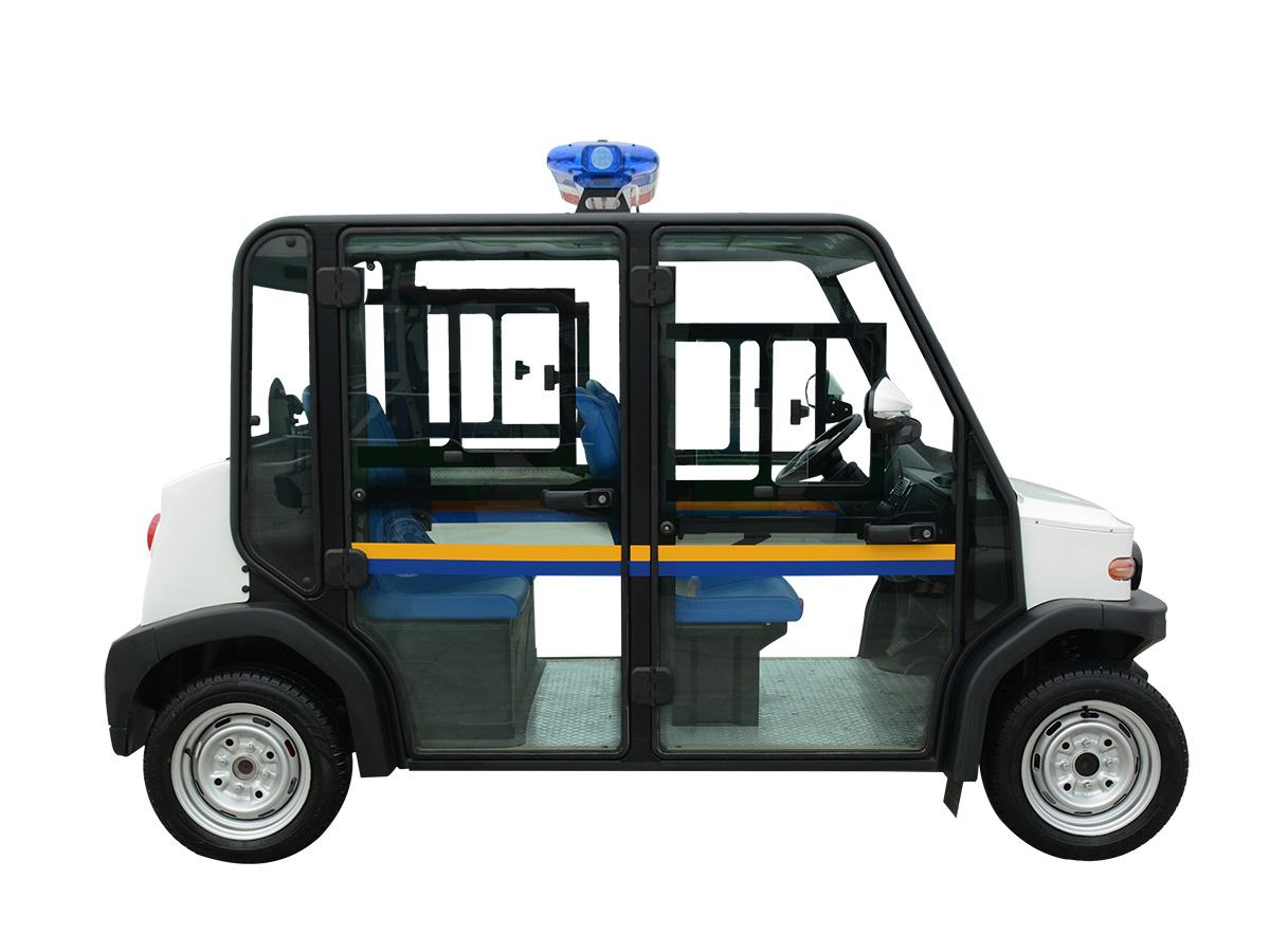 四人座电动巡逻车