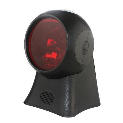 HC-104 Desktop 1D Omnidirectional Laser Barcode Scanner USB Directly Used on Retails Cashier System