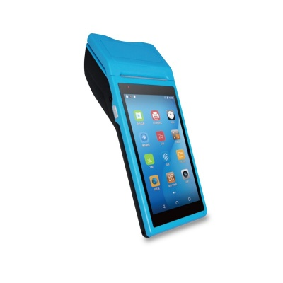 HC-A107 Android POS terminal PDA 1D CCD scanner with 58mm thermal printer for retail supermarket