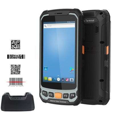 HC-A07 Android 7.0 1D/2D Handheld Terminal 4G Wifi GPS 4750mAH Battery For Logistics Delivery