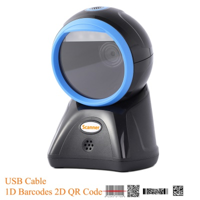 HC-A80 Omnidirectional barcode scanner 2D POS barcode scanner for POS system.