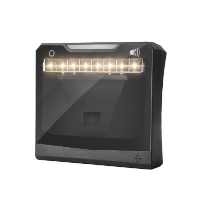 HC-9900 Omnidirectional Barcode Scanner,1D/2D Auto Sense QR Code Reader,USB Cable