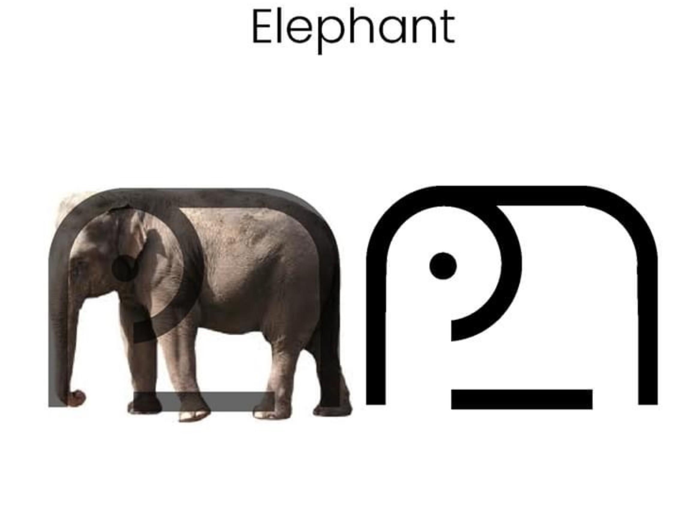 动物是如何演变成LOGO的?
