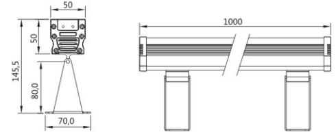SLL-5050 LED洗墙灯系列