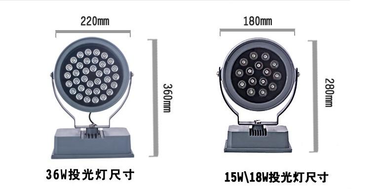 SLL-圆形投射灯
