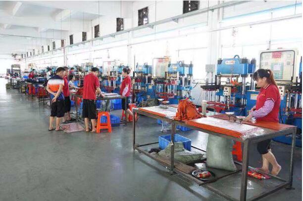 硫化生产车间