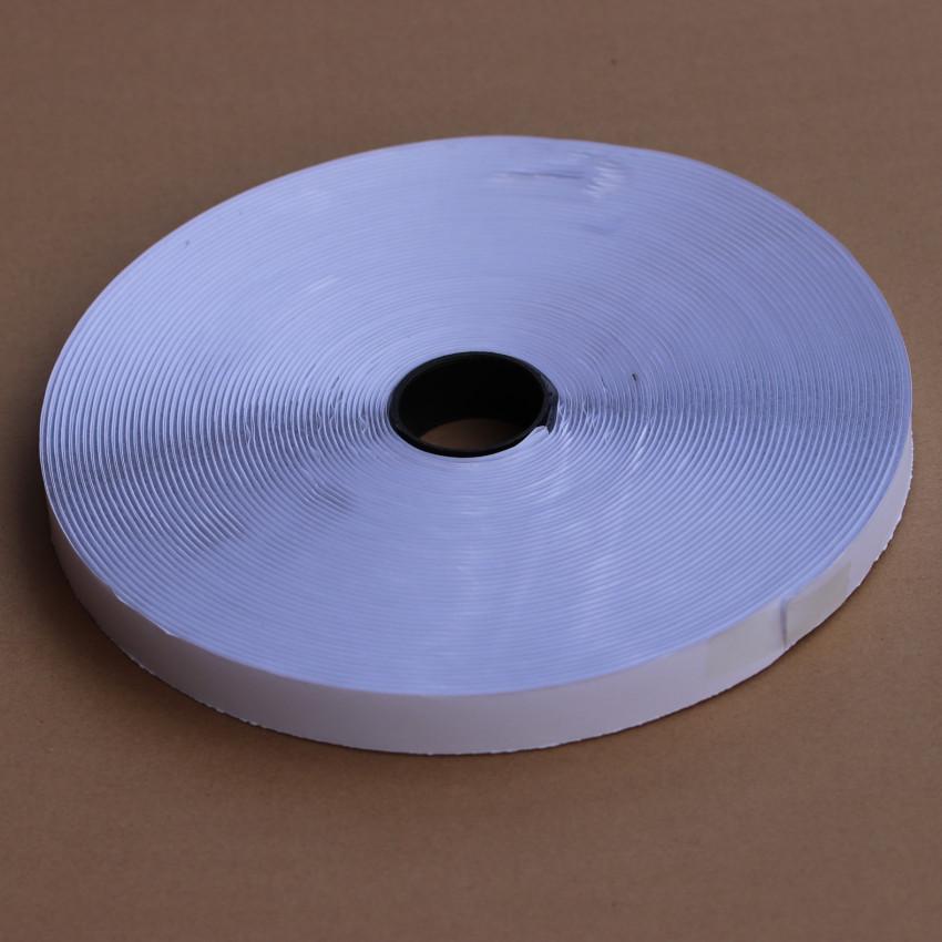 20mm白色背胶魔术贴/粘扣带毛面BJ-20WL-1