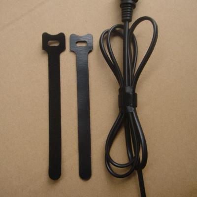 电源线用背靠背魔术贴扎带S3THQMBD-12X180BLK