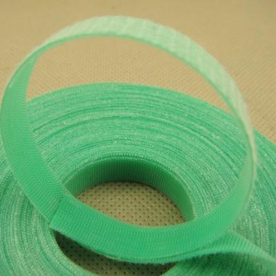 透明塑料勾背靠背绿色无纺布魔术贴S6THWF-10GRN-1