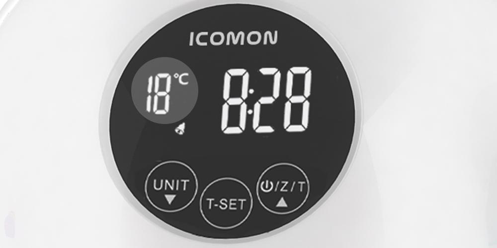 实时室温显示
