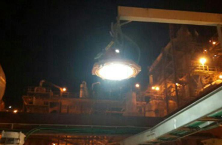 Dead sea works plant