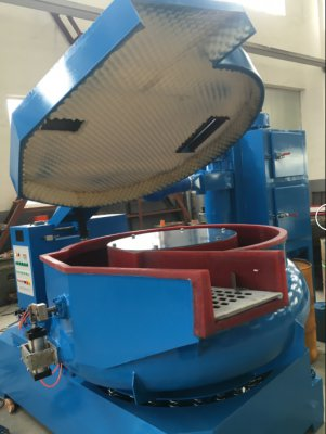 无锡泰源振动机,光饰机,球磨机 防噪音振动研磨机