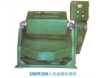 泰源DMW100-500六角滚桶研磨机