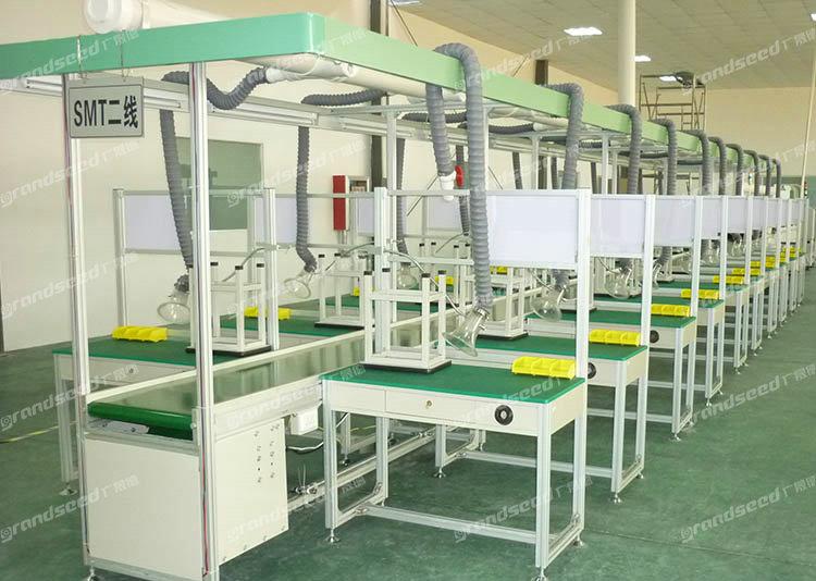 电子产品焊接生产流水线