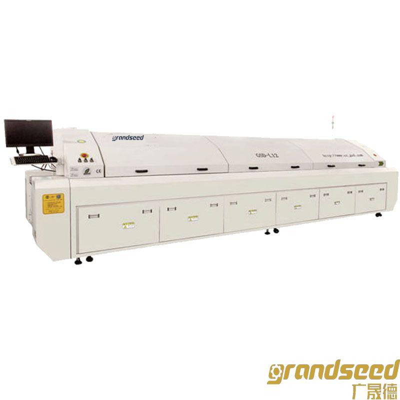 大型十二温区热风无铅回流焊机GSD-L12