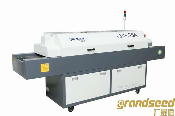 经济小型无铅回流焊机GSD-S5A