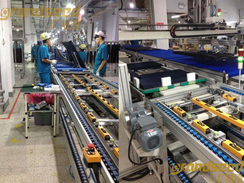 LCD电视机自动化生产线