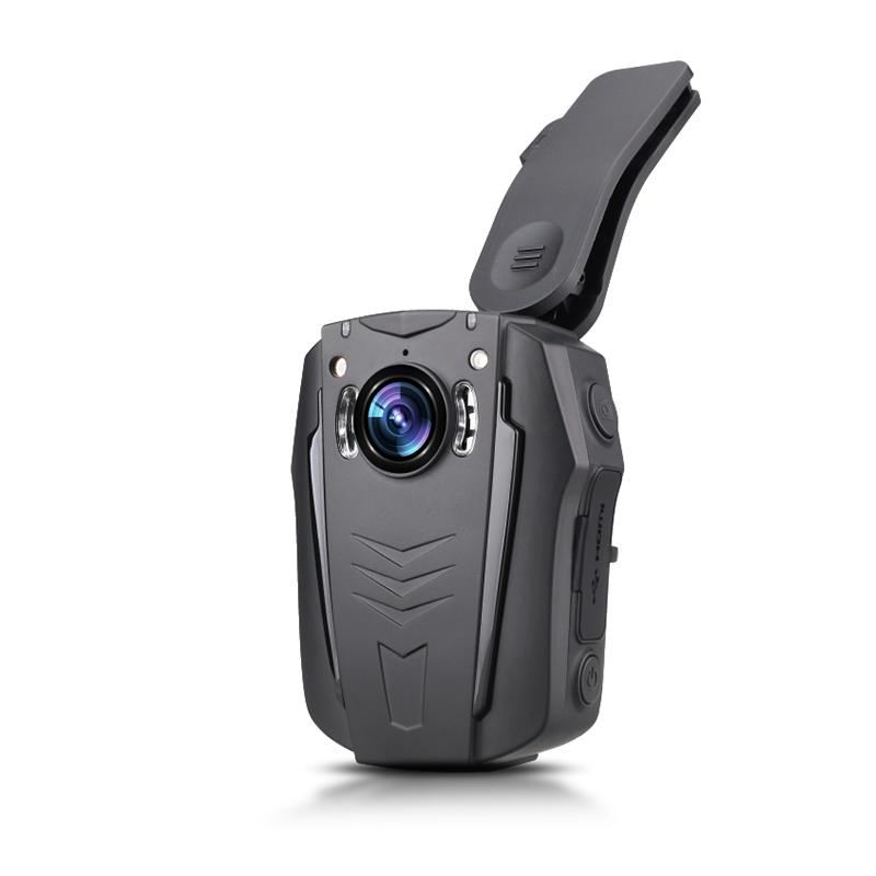 执法先锋PD70真4K超高清记录仪选配GPS/WIFI