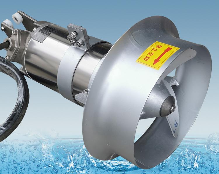 調節池潛水攪拌機的選型及安裝