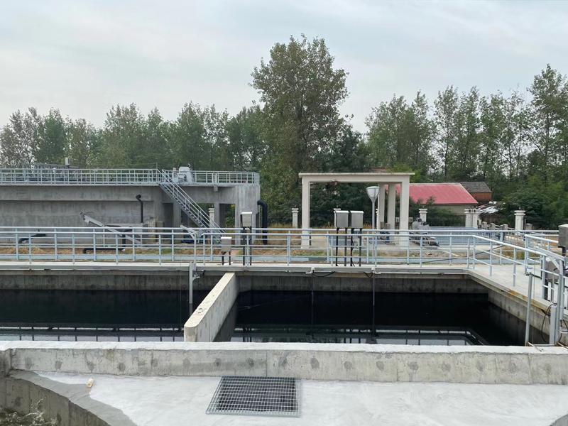 安徽六安某污水处理厂