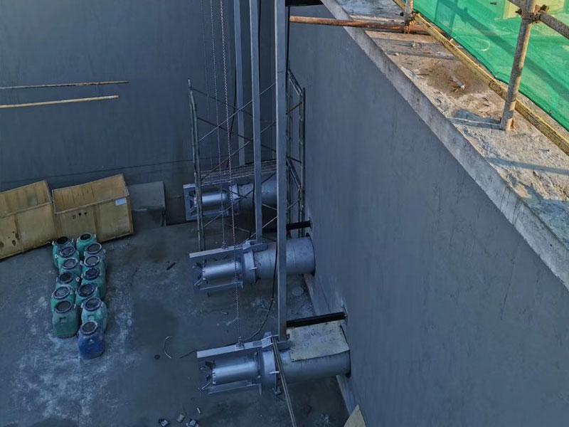 污泥回流泵工程案例