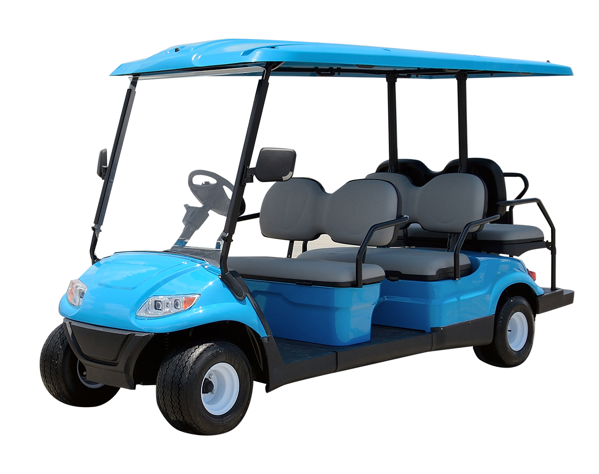 6-Seater Electric Golf Sightseeing Car