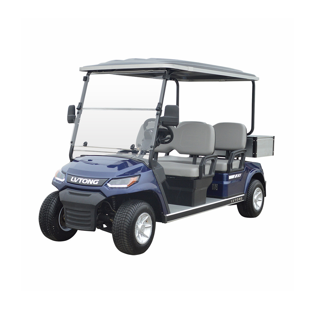 4 Seaters Golf Cart with Cargo box