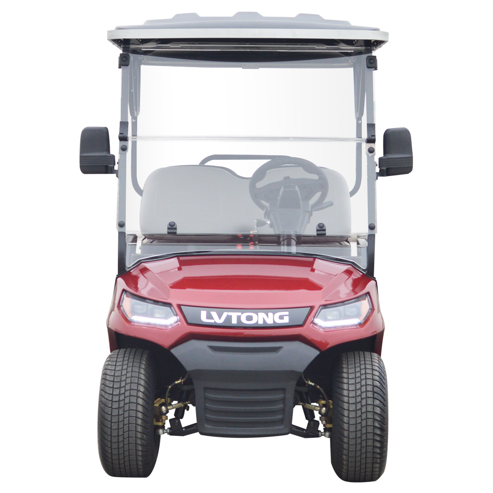 4 Seaters Golf Cart With Rear Seats