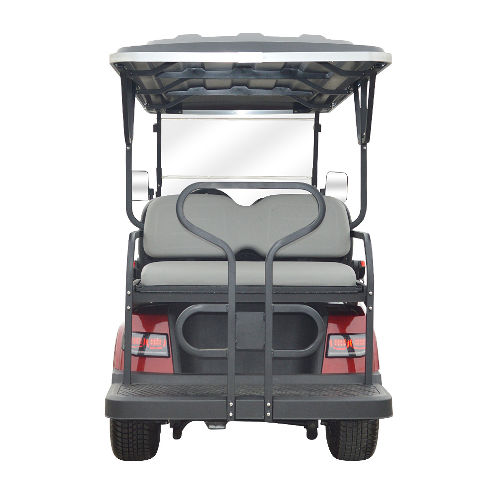 6 Seaters Golf Cart With Rear Seats