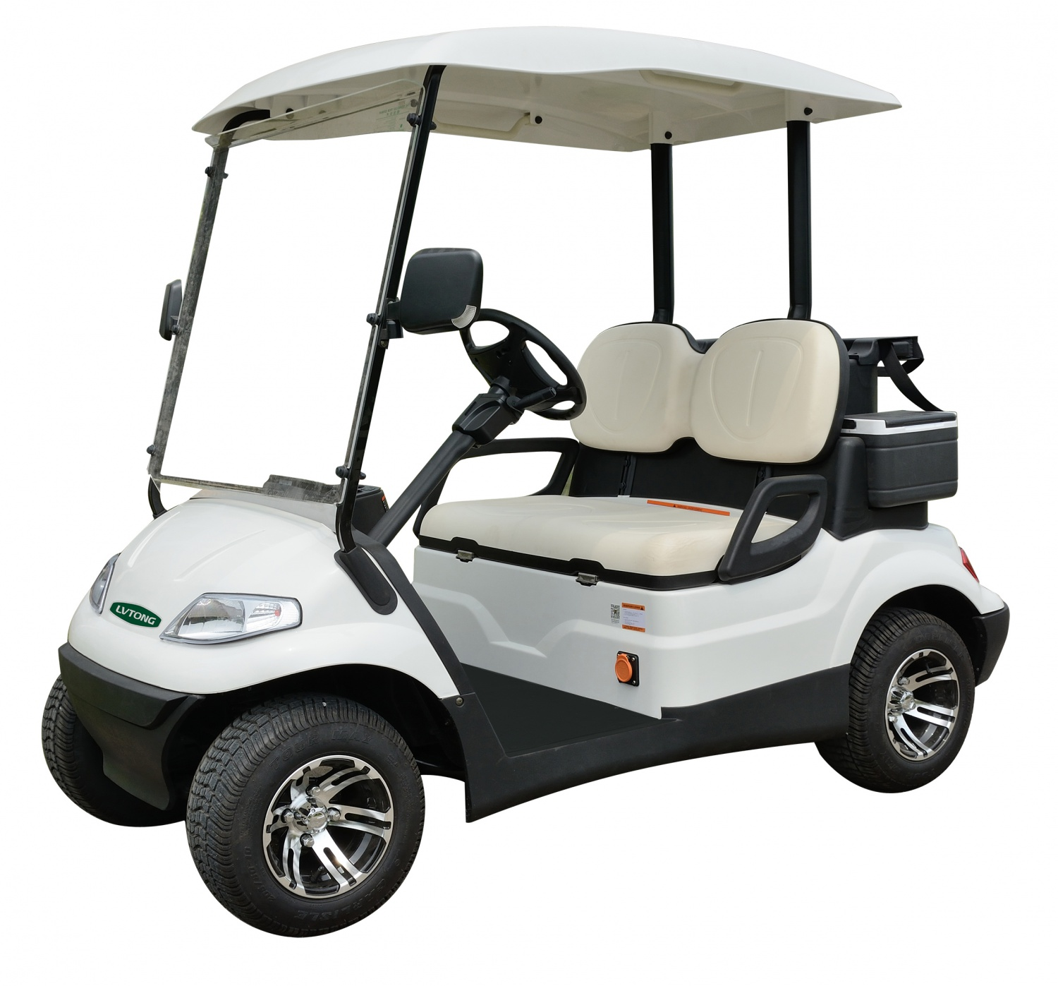 2-Seater Electric Golf Car
