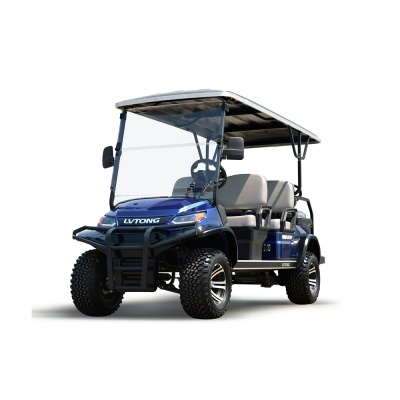 6 Seaters Lifted Golf Cart With LED Light