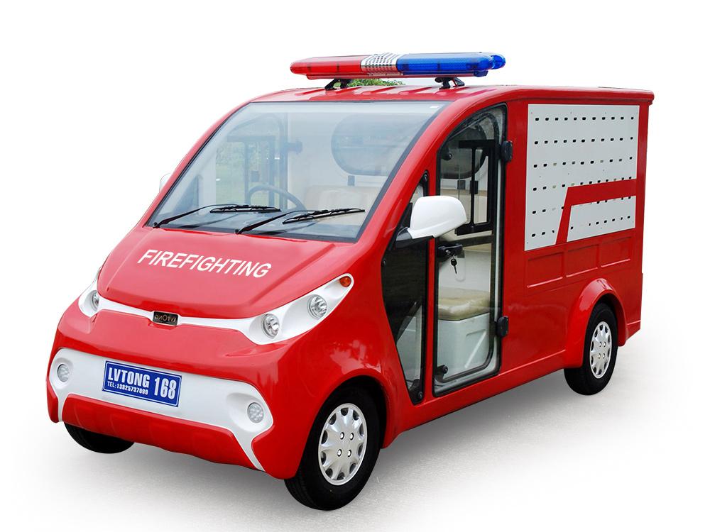 Electric fire truck