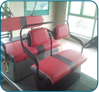 Artifical seat cushion