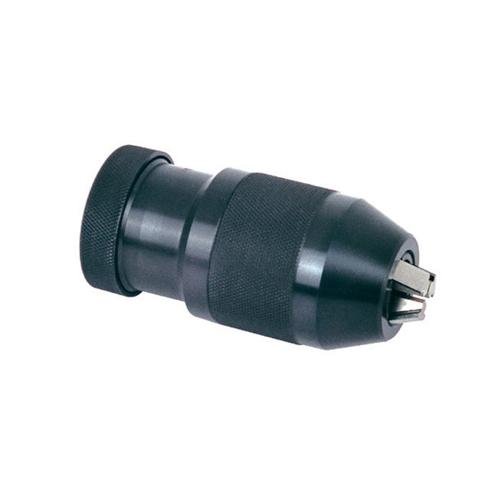 Keyless drill chuck thread mounted