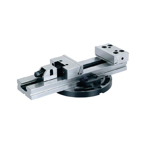 Precision modular vise with swivel base