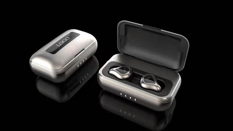 Antpo T13 Bluetooth 5.0 Wireless Earbuds with Wireless Charging Case