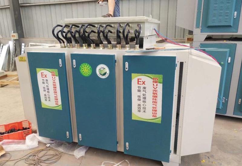 喷漆废气处理设备的处理原理