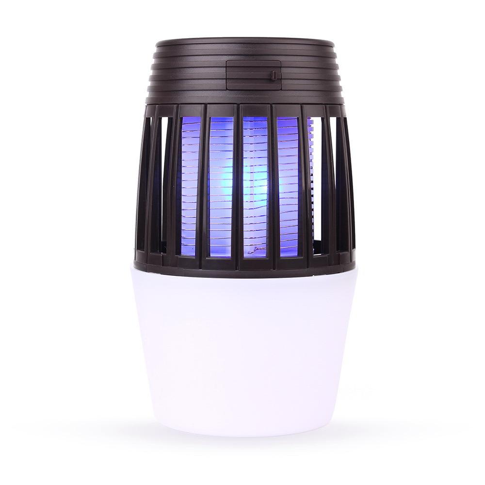 2019新款电击灭蚊灯 家用灭蝇驱蚊器户外灭蚊器多功能LED野营灯